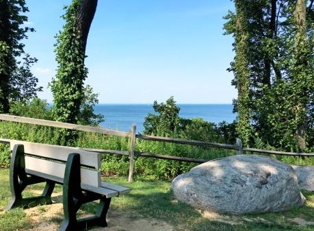 Sands Point Preserve, bench